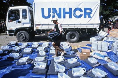 Aiuti dell'Alto Commissario delle Nazioni Unite per i rifugiati destinati ai profughi di Timor Est