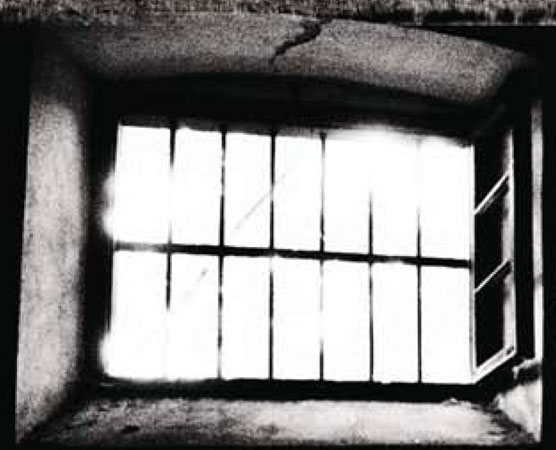 A jail's window