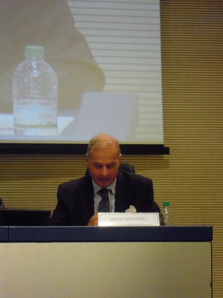 Diego Brasioli, Presidente del Comitato Interministeriale dei Diritti Umani.