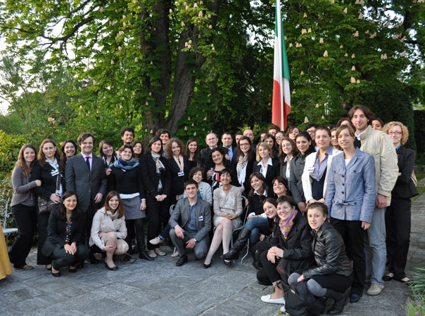 Study trip to Geneva of post-graduate students on human rights of the University of Padua (1-5 May 2011)