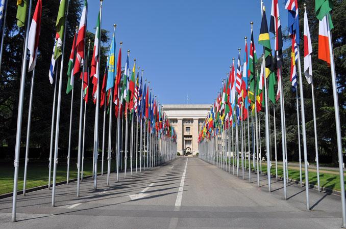 Palazzo delle Nazioni, Ginevra, 2011.