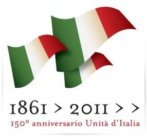 Logo per il 150° anniversario dell'Unità d'Italia