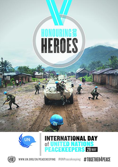 Giornata internazionale dei Peacekeepers delle Nazioni Unite, 29 maggio 2016
