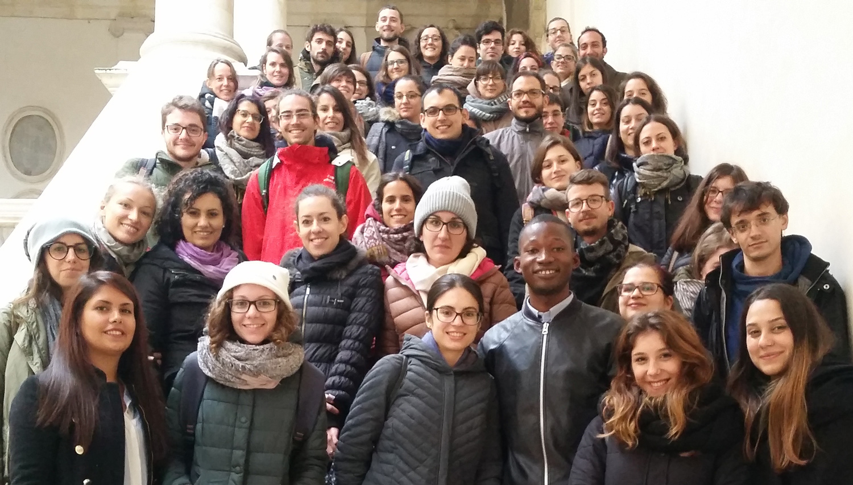 Volontarie e volontari in Servizio civile nazionale dell'Università di Padova, partecipanti al Workshop su Unione Europea, cittadinanza plurale e inclusiva, diritti umani, 13 novembre 2017