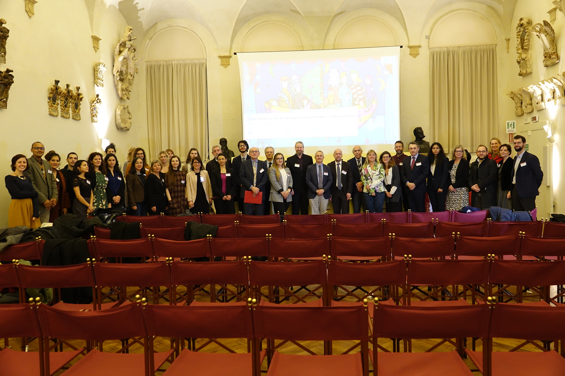 "International Conference ""Cities, territories and the struggles for human rights: a 2030 perspective"", University of Padova, Aula Nievo di Palazzo del Bo, 26th - 27th November 2018"