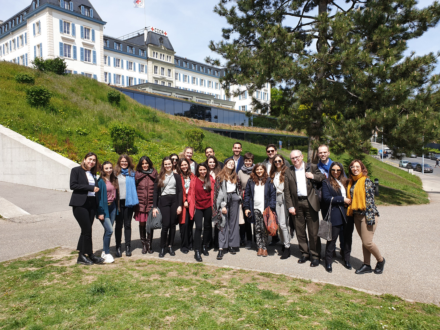 MA  in Human Rights and Multi-level Governance, Study Trip to the International Organizations in Geneva A.Y. 2018/2019