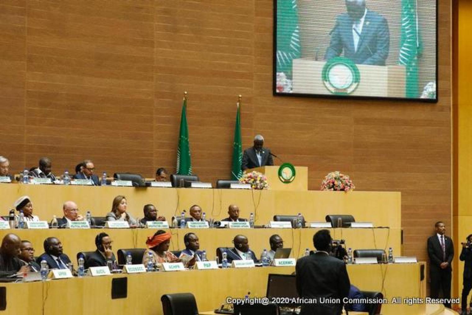 33esima sessione ordinaria dell'Unione Africana