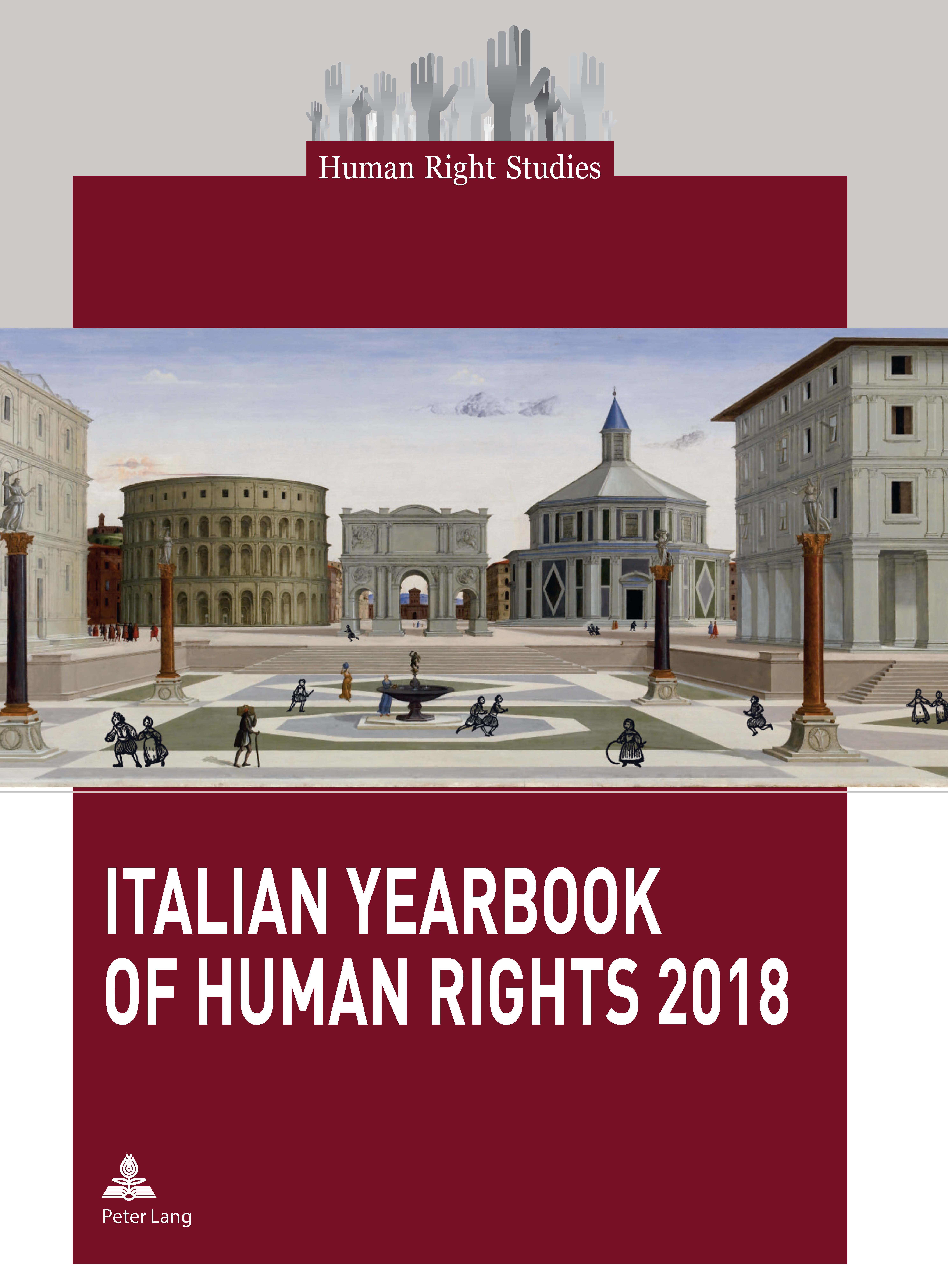 Cover of the Italian Yearbook of Human Rights 2018