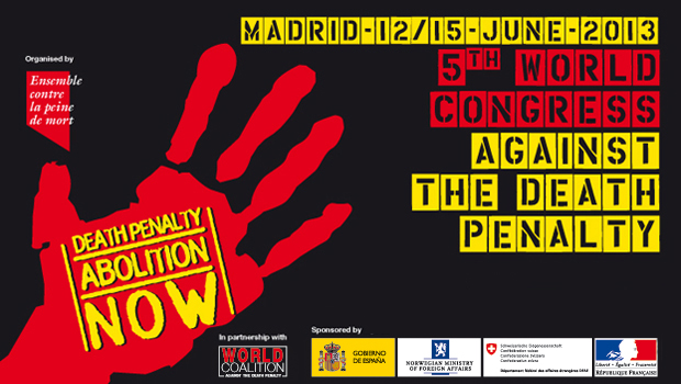 Logo 5th World Congress against the Death Penalty
