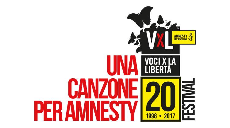 Una canzone per Amnesty concorso - Voci per la libertà - festival 2017