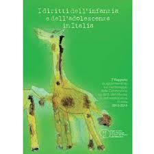 Copertina del 7° Rapporto sullo stato dell'infanzia e dell'adolescenza in Italia, 2014