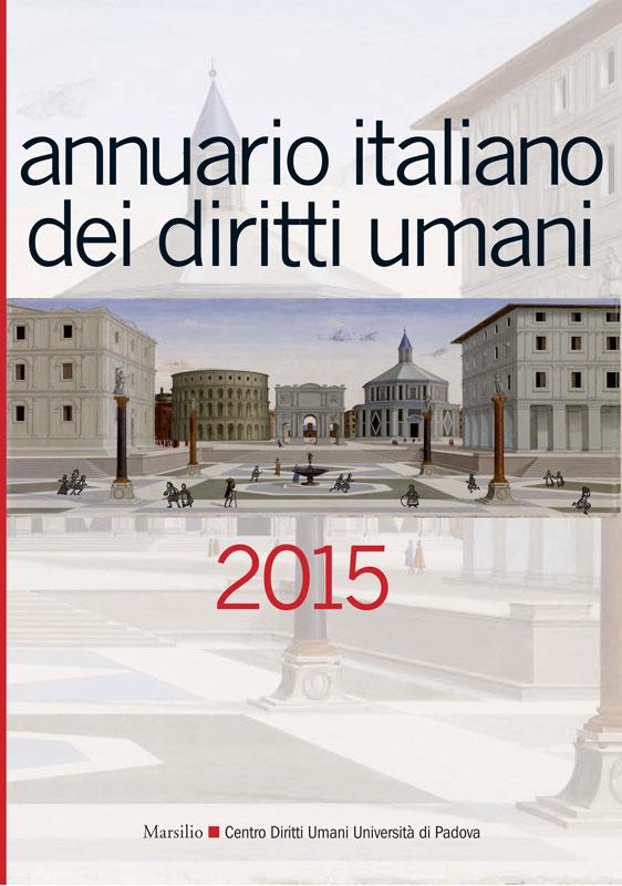 Annuario italiano dei diritti umani 2015, copertina