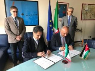Accordo Italia-Giordania, 4 aprile 2018, Roma