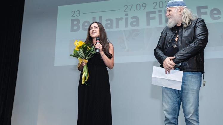 Alessia Bottone premiata al Bellaria Film Festival