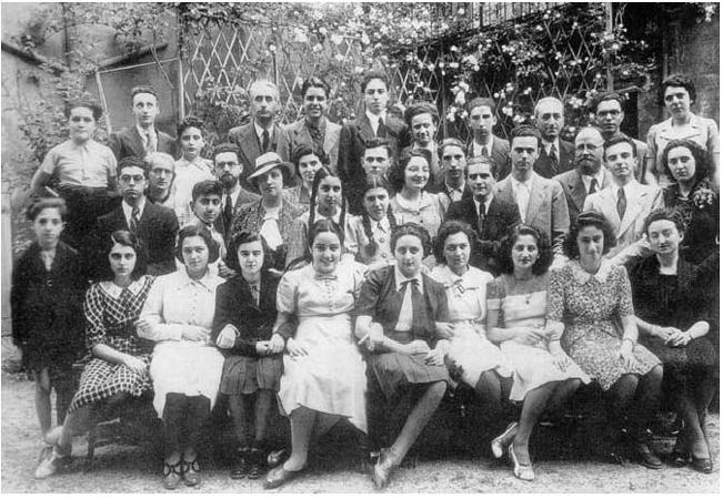 Padova, 1939: allievi e docenti ebrei del Liceo Tito Livio espulsi dalla scuola in attuazione delle leggi razziali.