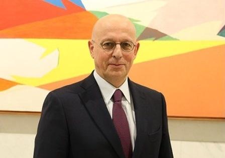 L'Ambasciatore Michele Giacomelli, Rappresentante Permanente d'Italia presso il Consiglio d'Europa