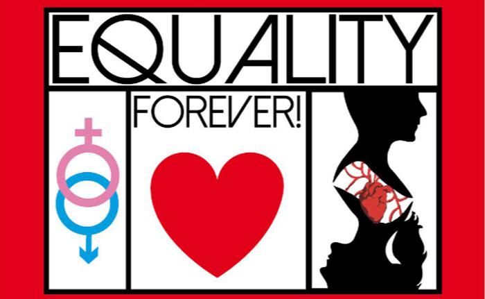 """Logo del bando """"Equality forever - giovani e pari opportunità"""""""