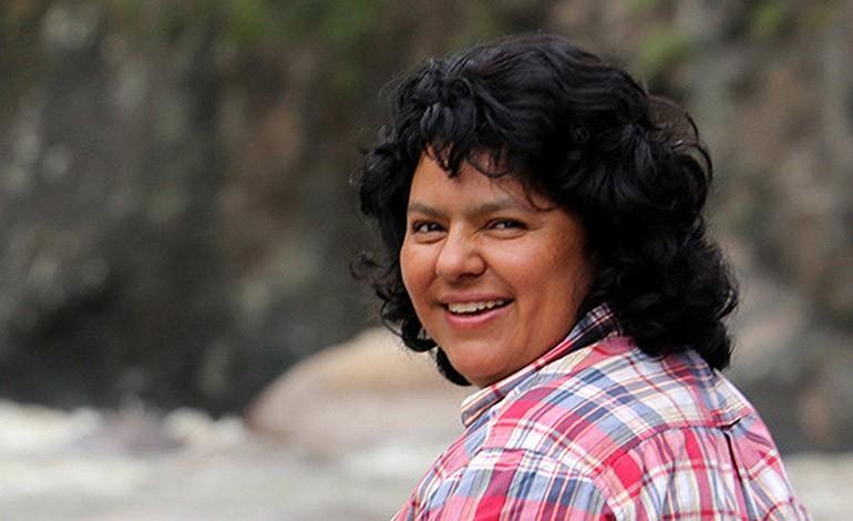 Berta Isabel Cáceres Flores (Honduras)