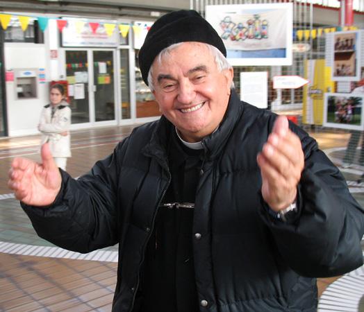 Don Oreste Benzi, fondatore della Comunità Papa Giovanni XXIII