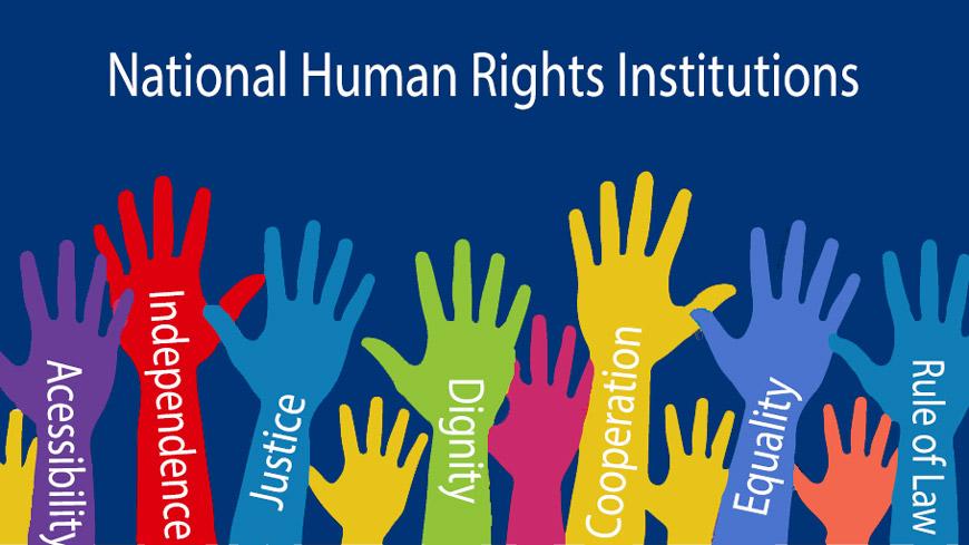 Immagine rappresentante le istituzioni nazionali per i diritti umani sostenute dai Principi di Parigi