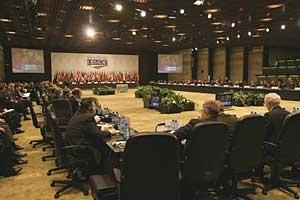 Seduta Plenaria del Consiglio Ministeriale OSCE, Sofia, 2004