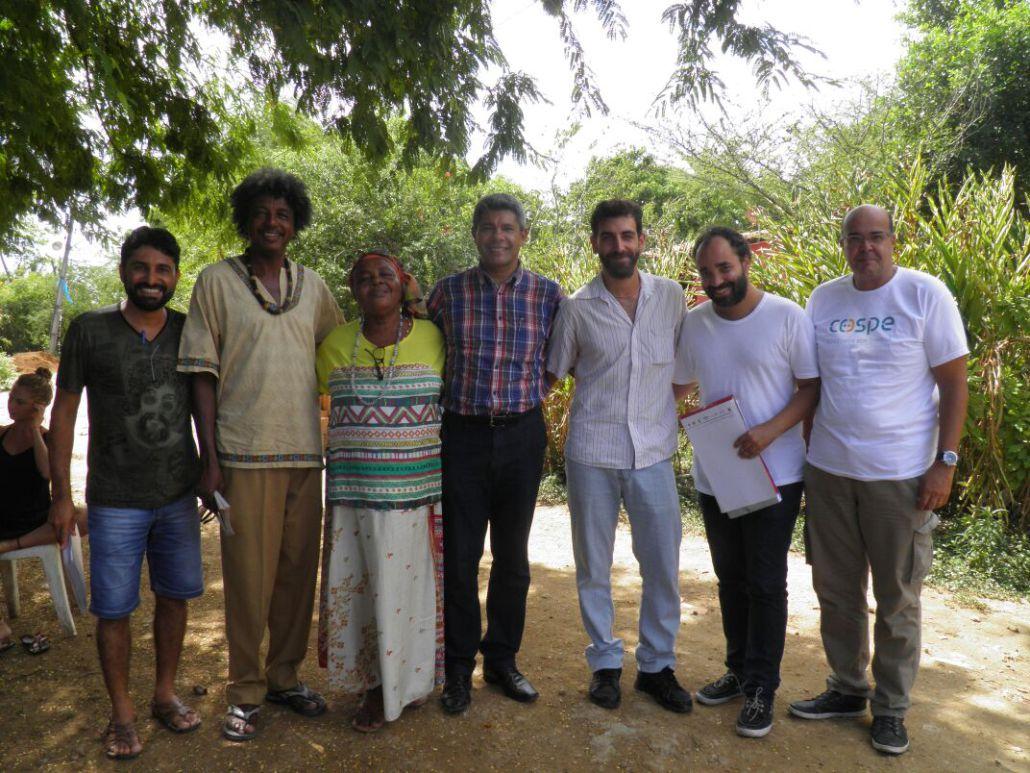 Cospe, foto del progetto Terra di Diritti, sostegno alle comunità quilombolas dello Stato di Bahia