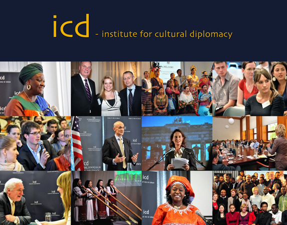 Institute for Cultural Diplomacy, brochure, 2011