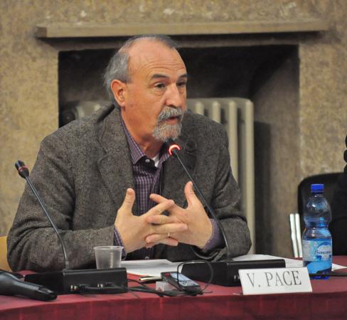 Vincenzo Pace, Docente di Religioni e società nella Laurea magistrale in Istituzioni e politiche dei diritti umani e della pace, Università di Padova