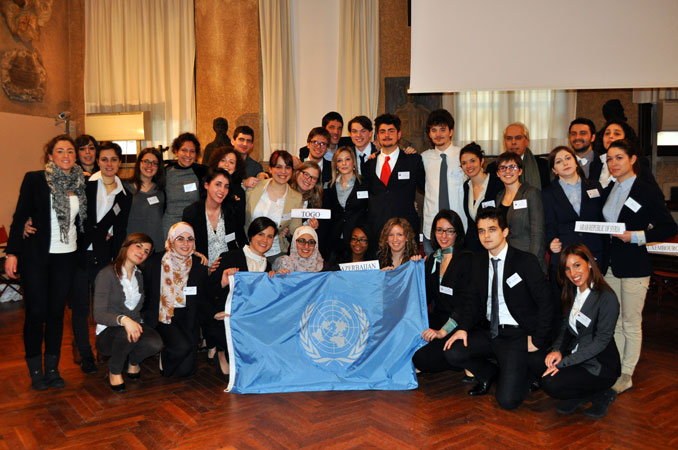 "UN Security Council Simulation on the situation in Syria, prepared by the students of the Bachelor degree course in ""Political Science, International Relations and Human Rights"" - Course of International Relations, prof. Marco Mascia, University of Padua."