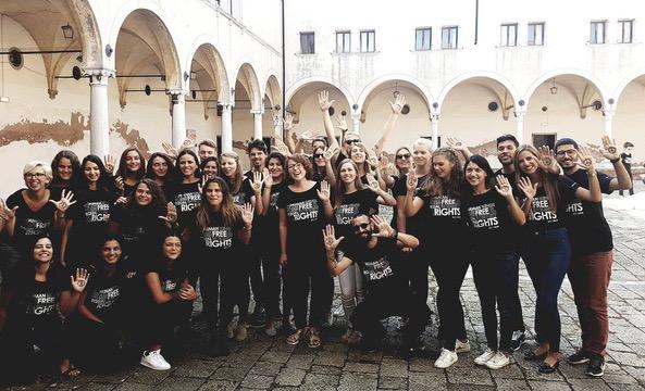 E-MA Students 2016/2017 at the San Nicolo Monasetry, Lido of Venice