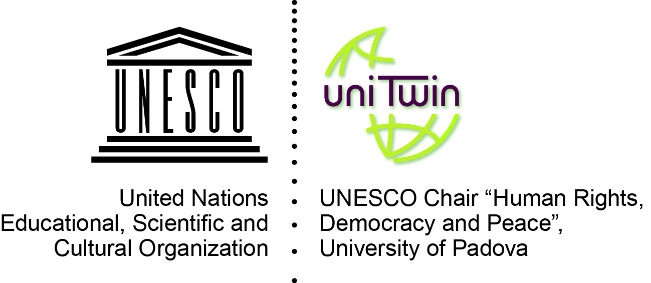 """UNESCO Chair """"Human Rights, Democracy and Peace"""", University of Padova"""