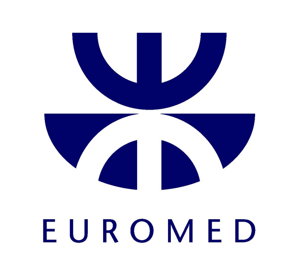 Logo EUROMED for the initiatives promoted in the framework of the Barcelona Process in the Euromediterranean Region
