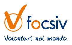 Logo Focsiv - Volontari nel mondo