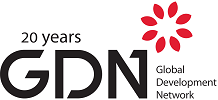 Logo Global Development Network -GDN