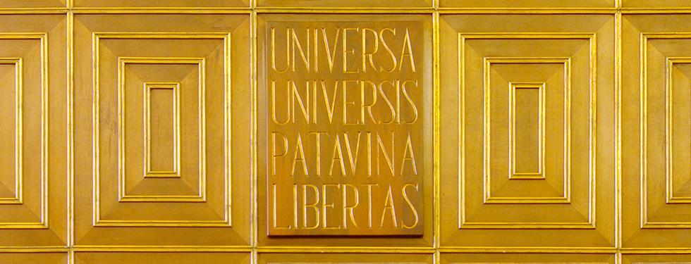 Motto dell'Università degli Studi di Padova