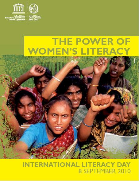 Locandina della Giornata internazionale per l'alfabetizzazione, 2010