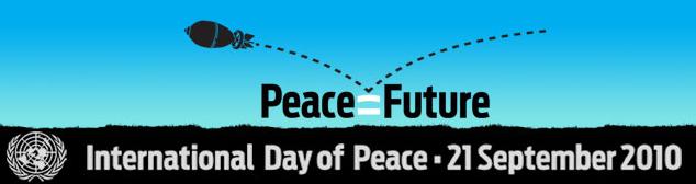 Logo della Giornata Internazionale della Pace, 2010
