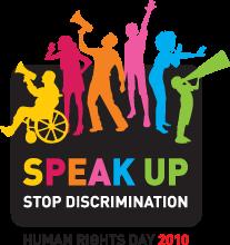 Logo della Giornata Internazionale dei diritti umani