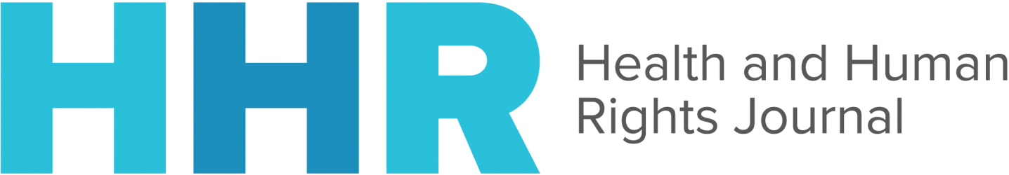 Logo Health and Human Rights: An International Journal