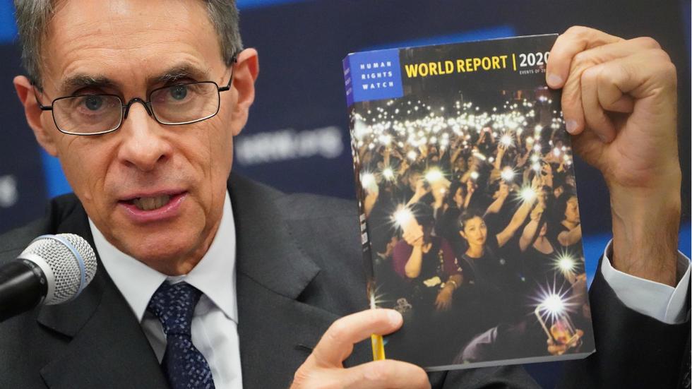 Conferenza stampa di Human Rights Watch del 14 gennaio e lancio del World Report 2020