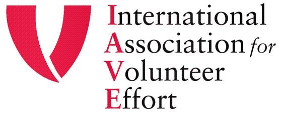 Logo dello IAVE - International Association for Volunteer Effort