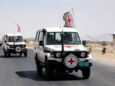 Mezzi del Comitato Internazionale della Croce Rossa a Kinshasa, 2011
