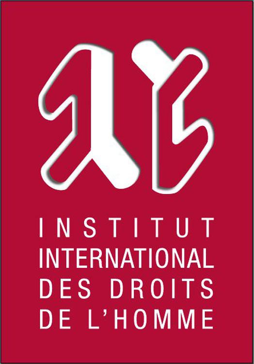 logo dell'Istituto internazionale dei diritti umani di Strasburgo