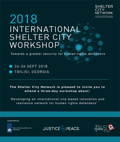 International Shelter City Workshop 2018, Tbilisi 24-26 September
