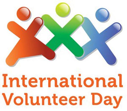 Logo della Giornata del Volontariato Internazionale e dello Sviluppo Economico e Sociale 2012
