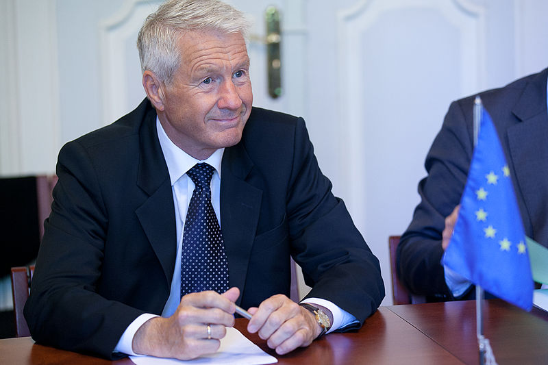 Thorbjørn Jagland, the Secretary General of the Council of Europe