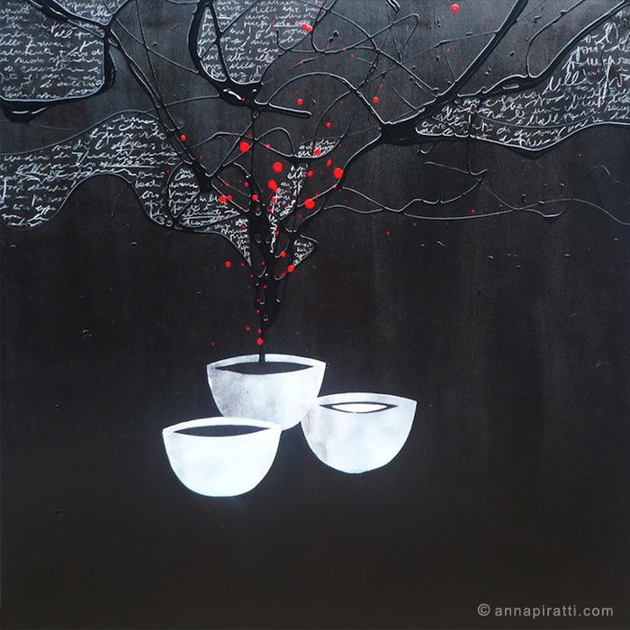 Anna Piratti, Fiducia, VASI COMUNICANTI / paintings / acrilic on canvas 2013