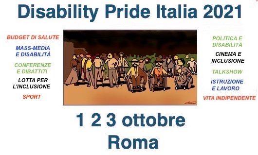 Locandina Disability Pride Italia