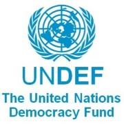 Logo Fondo delle Nazioni Unite per la democrazia - UNDEF