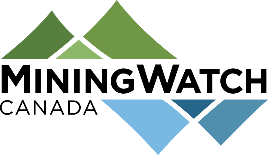 Logo Mining Watch Canada